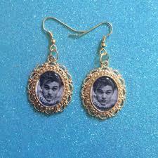 grunge earrings leonardo dicaprio gold grunge from exgirlfriends on etsy