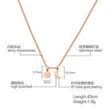 s day jewelry gifts new arrive s day jewelry gifts 43cm stainless steel
