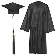 black graduation cap and gown china customized graduation gown dress with graduation cap and