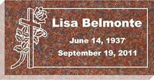 flat grave markers headstones gravestones grave markers by affordable markers