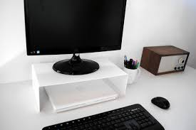 desktop computer stands captivating monitor stand for desk on no 1 modern home office