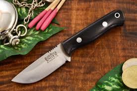 bark river kitchen knives bark river bravo micro black canvas micarta