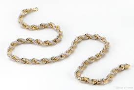 rope necklace chains images Online cheap 200 grams solid rope chain iced out with 3100 jpg