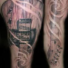 music is for ever and so are these time defying music tattoos