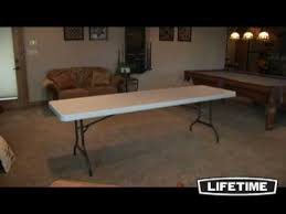 8 foot lifetime table lifetime 8 foot folding table multiple models lifetime features