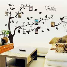 diy family tree wall mural wall murals you ll love diy family tree room decor stickers wall photo frame decal