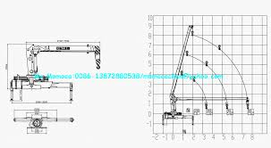 pickup truck crane with cable winch hydraulic arm cranes fixed