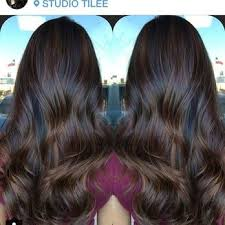 long brown hairstyles with parshall highlight dark on dark balayage google search hair pinterest dark