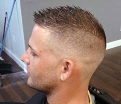 razor cut hairstyle with spiky on top bald fade with spiky top haircuts pinterest bald fade