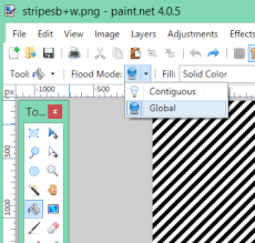 how to change the colour of your patterned paper using paint net