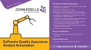 Certified Software Quality Engineer John Keells Computer Services Pvt Ltd Linkedin