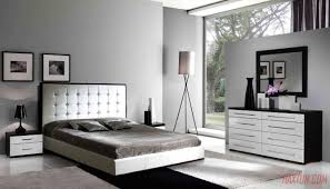 Contemporary Black King Bedroom Sets Dressers Drawer Furniture Short Chest Of Drawers Full Size Bed