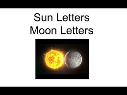 sun letter and moon letter diacritical marks section 2 lesson