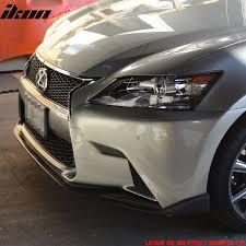 lexus is lip spoiler lexus 13 15 f sport gs350 450 sk front bumper lip spoiler urethane