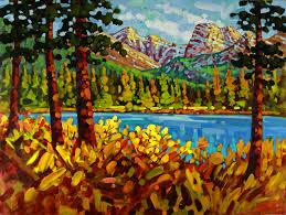 Mountain Landscape Paintings by Mountain Landscape Paintings Ken Gillespie Sfca
