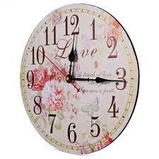 online get cheap large wall clock vintage aliexpress com