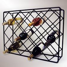 home design inspiring criss cross wine racks