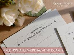 and groom advice cards wedding card malaysia crafty farms handmade freebie time
