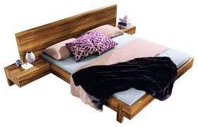 Bed Headrest Gap Platform Bed Contemporary Platform Beds By Haiku Designs