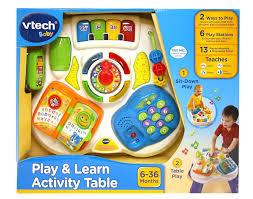 Baby Einstein Activity Table Vtech Brands Toyworld