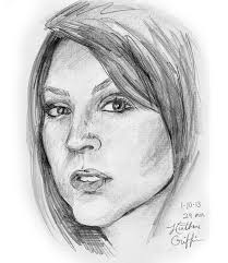 heather griffin art fast sketch face