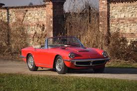 maserati mistral 1965 maserati mistral classic driver market