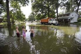 record rainfall in michiana leaves floods damaged homes and a