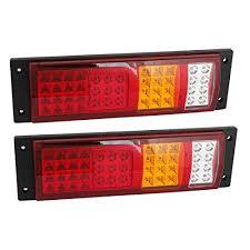 led brake lights for trucks 24volt truck led tail light amazon com