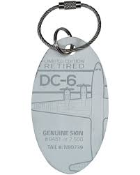 plane tags own a piece of aviation history