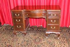 Small Mahogany Desk Mahogany Antique Desks Secretaries 1900 1950 Ebay