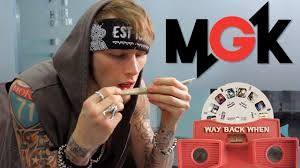 machine gun kelly rolls a canon during interview youtube