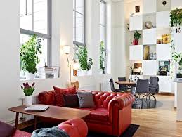 apartment gorgeous industrial style apartment with greenery on
