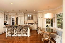 Kitchen Island Tables With Stools by Kitchen Island Drum Chandelier Kitchen Banquette With Round Table