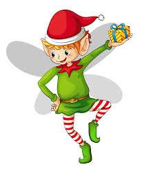 christmas cute elf clipart 0 cliparting com