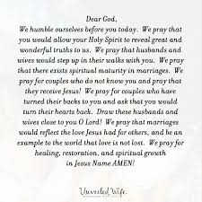 marriage prayers for couples prayer of the day spiritual maturity in marriage
