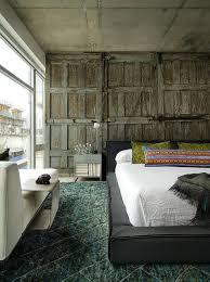 trompe l oeil chambre décoration sur les murs pour une chambre très design design feria