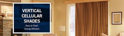 Energy Efficient Vertical Blinds Shop Custom Vertical Cellular Shades At Lowe U0027s Custom Blinds