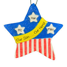 themed patriotic ornaments gifts