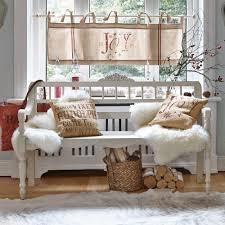 Schlafzimmer Im Chaletstil Hocker Aus Metall Holz U0026 Baumwolle Praktisch U0026 Elegant