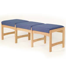 wooden oak lobby u0026 waiting room benches abc office