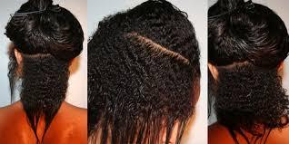 comment couper ses cheveux le big chop le fait de couper ses longueurs défrisés et de garder
