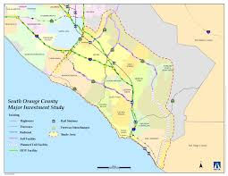 California Cities Map Map Of Orange County Ca