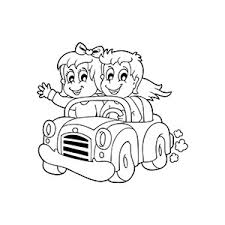 free printable car coloring pages kids