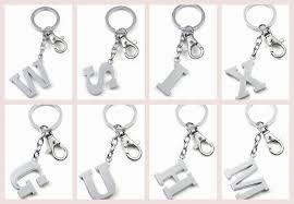 fashion key rings images Fashion letter key rings letter m keychain nice key chain key jpg