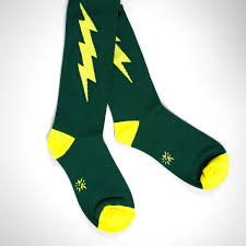 Super Socks Sock It To Me Super Hero Green And Gold At Buyolympia Com