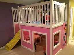 Ana White Bunk Bed Plans by Playhouse Loft Bed Do It Yourself Home Projects From Ana White