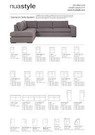 sofa dimensions in feet