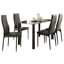 black dining rooms dining room contemporary marble top dining table dining room
