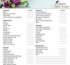Wedding Decor Checklist Wedding Checklist Destination Wedding Planning Checklist The