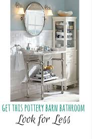 Pottery Barn Bathrooms by Best 25 Apothecary Bathroom Ideas On Pinterest Apothecary Jars